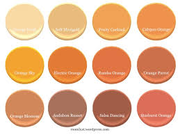 Mediterranean Paint Colors Interior The Best Orange Paint Colors Room Lust