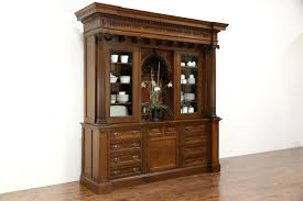 Milwaukee Cabinet Sold Oak Carved Antique Sideboard Cabinet Or Back Bar 1899