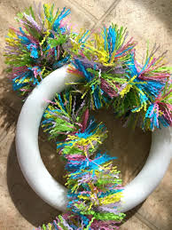 how to make easter wreaths make an easter wreath in 5 minutes