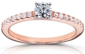 Rose Gold Wedding Rings For Women by Ring Endearing Bright Diamond Ring For Womens Price In India