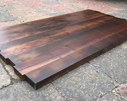 unfinished rectangular wood table tops wood table top etsy