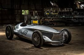the infiniti prototype 9 u0027s racing body hides an electric heart