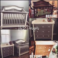 gorgeous gray crib makeover crib makeover pottery barn style