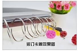 Scrapbook Binder Dhl 500pcs Lot 30mm Book Hoop Binding Rings Binder Hoops Loose