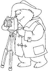paddington bear coloring picture paddintong bear