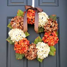 hydrangea wreath fall hydrangea wreath tutorial one momma