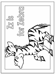 coloring pages zebra coloring