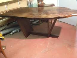 awesome handmade dining room tables with custom maple table base