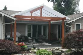 Patio Covers Seattle Gabled Roof Style Traditional Patio Seattle By Acrylic