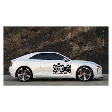 audi decals audi racing car logo car sticker auto decal car decoration