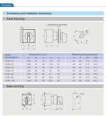electrical motorized rotary cam switch 63a ac 440v lw30 63 buy