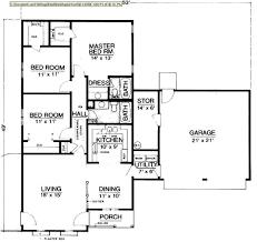 large bungalow house plans mesmerizing one floor bungalow house plans pictures best