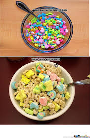 Lucky Charms Meme - lucky charms by zombiesofdawn meme center