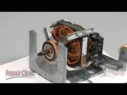 whirlpool 27 u201d gas dryer drive motor replacement 279787 youtube