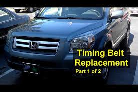 2005 honda accord timing belt or chain honda pilot timing belt and water replacement part 1 of 2