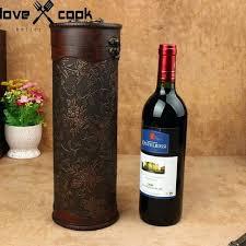 gift packaging for wine bottles wine box portable wood wine box retro wine gift wine