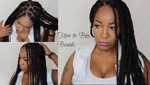 which takes longer to do box braids or senegalese how to box braids triangle braids youtube