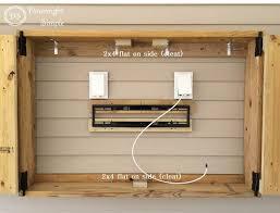 shutter tv wall cabinet flat screen tv cabinets with doors roselawnlutheran
