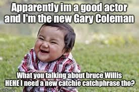 Gary Coleman Meme - evil toddler meme imgflip