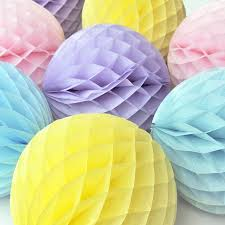 paper decorations honeycomb paper hangings pack of 2 paper mart