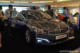 peugeot 508 2015 peugeot 508 facelift previewed lowyat net cars