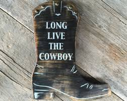 wild west home decor cowboy decor etsy