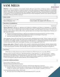 pharmacist resume template pharmacist cv template cv templates
