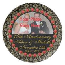 40th anniversary plates personalized porcelain 40th anniversary plate anniversaries