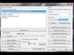 Windows 7 Top Bar Title Bar Changer Studio 1 2 1 763 Free Download For Windows 8