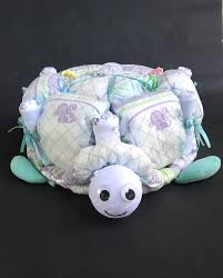 turtle diaper cake turtle baby shower turtle baby unique