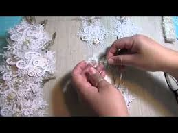 2014 shabby chic handmade ornaments