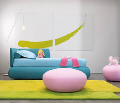 Childrens Bedroom Furniture Colorful And Multifunction Candy Bed For Childrens Bedroom