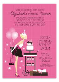 sweet 16 birthday blowout invitation polka dot design