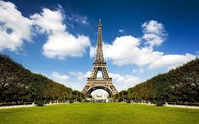 French Flag Eiffel Tower Monuments La Tour Eiffel Tower Blue Sky Architecture Monuments