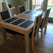 slate dining table set solid wood dining table sets dining table set with bench and chair