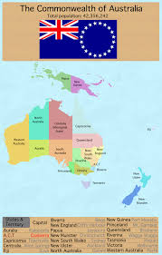 New England States Map by Map Of Australia If All Proposed States Existed Maps Pinterest