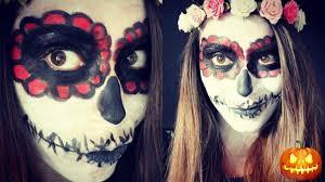 Sugar Skull Halloween Makeup Sugar Skull Halloween Makeup Tutorial Trucco Halloween