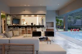 nice exterior design of the contemporary luxury homes that has