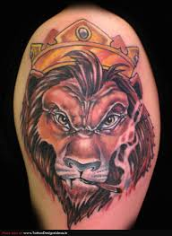 rampant lion of judah tattoo design photos pictures and