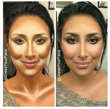 highlighting and contouring but what contour makeup google search