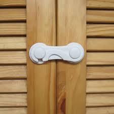 Cabinet Door Locks Latches Baby Child Safety Drawer Cupboard Box Fridge Cabinet Door
