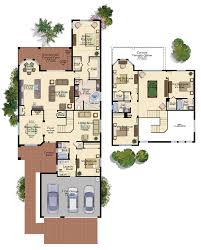Florida Floor Plans Merlot New House Plan In Riverstone Naples Florida