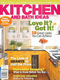 kitchen and bath ideas magazine inspirational bhg kitchen and bath