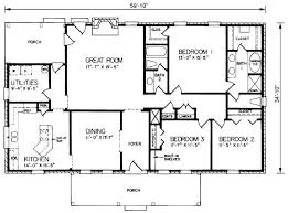 simple rectangular house plans 4 bedroom rectangular house plans house plan unique sf plans fresh