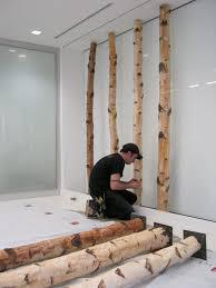 birch tree decor let s stay birch poles branches in interiors green decor design