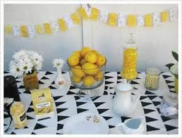 Yellow Black and White Parties Design Dazzle