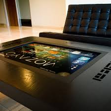 Computer Coffee Table M32 Premium Series Multitouch Table Mozayo Touch Of Modern