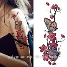 flower tattoo sleeves for girls selling fake body tattoo