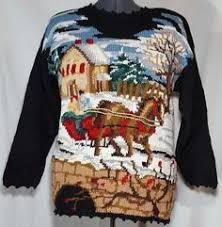 christmas themed holiday time sweater vest size xxl santa ice