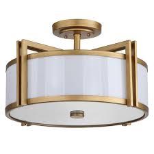 gold flush mount light safavieh orb 3 light antique gold semi flush mount light lit4186a